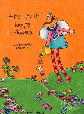 Gardener Angel Poster by Sarah Batalka