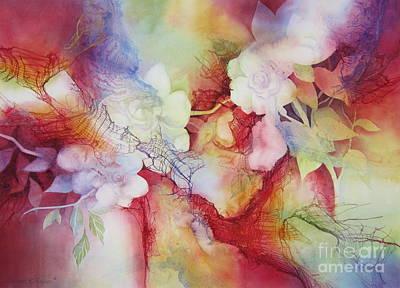 Gardenias Poster by Deborah Ronglien