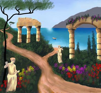 Gardens Of Venus Poster