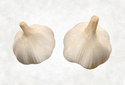 Garlic Poster by Danny Smythe