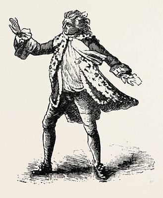 Garrick As King Lear, Shakespeare, English Poet Poster