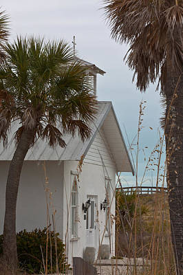 Poster featuring the photograph Gasparilla Island State Park Chapel by Ed Gleichman