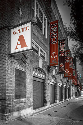Gate A Poster by Paul Treseler