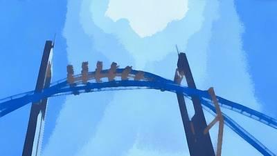 Gatekeeper Cedar Point Poster by Dan Sproul