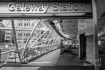 Gateway T Station  Pittsburgh Poster by Amy Cicconi