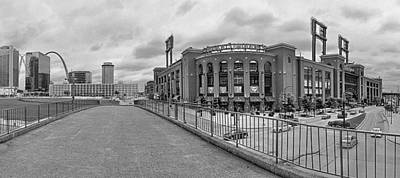 Gateway To Busch Black And White Poster