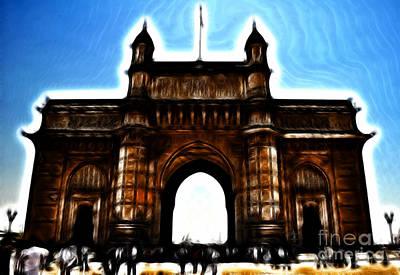 Gateway To Fractalius Poster