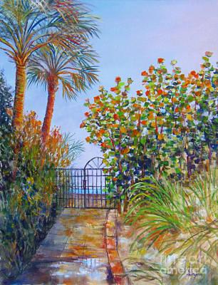 Gateway To Paradise Poster by Lou Ann Bagnall