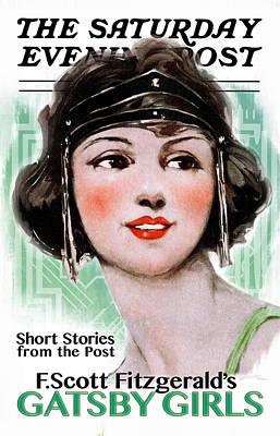 Gatsby Girls Saturday Evening Post Poster