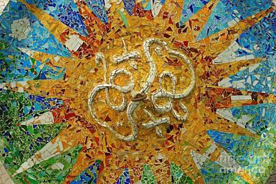 Gaudi Art Poster