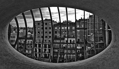 Gaudi's View Poster by Robert  FERD Frank