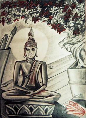Gautama Buddha  Poster by Soumya Suguna
