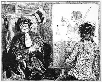 Gavarni Portrait, 1850 Poster by Granger