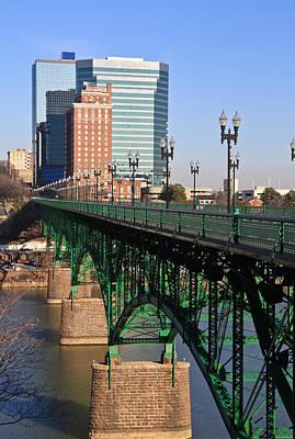 Gay Street Bridge Knoxville Poster