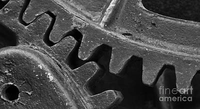 Gear Teeth On An Industrial Machine Poster by ELITE IMAGE photography By Chad McDermott