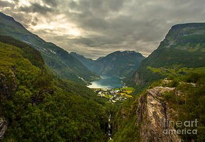 Geiranger Poster by Rose-MariesPictures