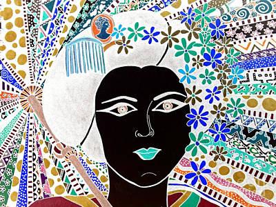Geisha Girl Magic Poster