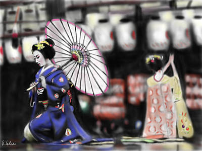 Geisha No.109 Poster by Yoshiyuki Uchida