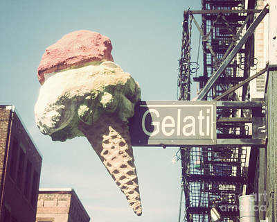 Gelati Poster by Jillian Audrey Photography