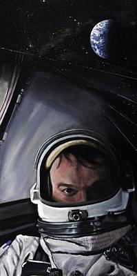 Gemini X- Michael Collins Poster