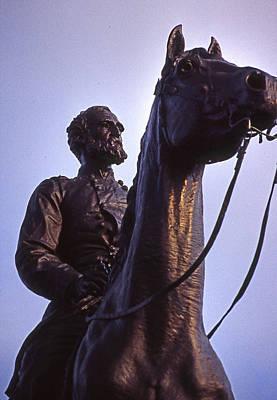 Gen Meade At Gettysburg Poster
