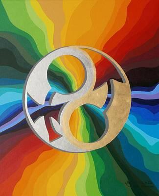 Gender Continuum  Poster by Adrien Barlow