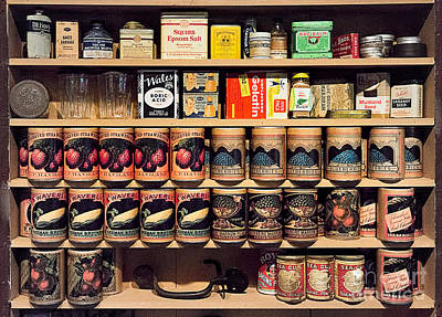 Poster featuring the photograph General Store Goods by Vicki DeVico