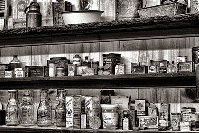 General Store Shelves Poster by Olivier Le Queinec