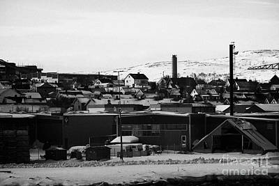 General View Across Kirkenes Finnmark Norway Europe Poster