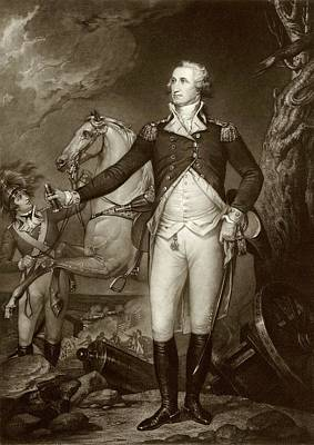 General Washington At Trenton Poster by American Philosophical Society