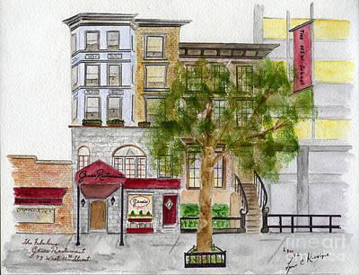 Gene's Restaurant In Greenwich Village Poster