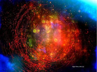 Genesis Poster by Edgar Torres