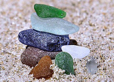 Genuine Sea Glass Poster