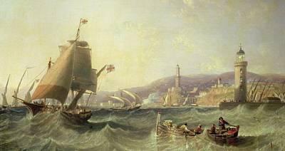 Genoa Poster by John Wilson Carmichael