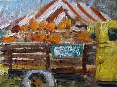 Gentrys Farm Poster by Susan E Jones