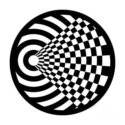 Geomentric Circle 2 Poster