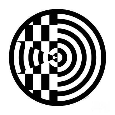 Geomentric Circle 3 Poster