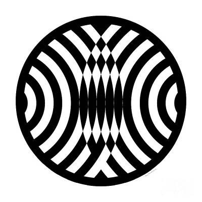 Geomentric Circle 4 Poster