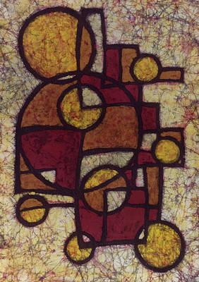 Geometric Batik Poster by Kevin Houchin