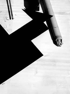 Geometric Shadow Poster
