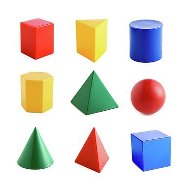 Geometric Shapes Poster by Science Photo Library