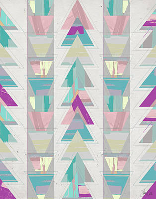 Geometric Triangle I Poster by Shanni Welsh