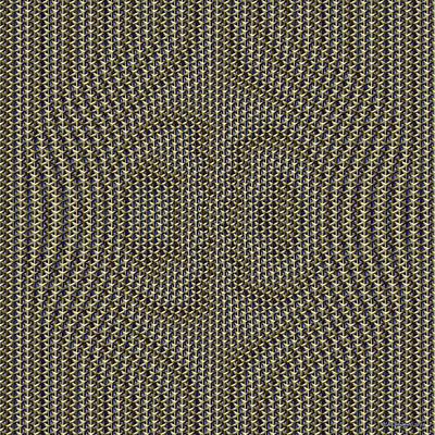 Geometric Warpation Poster