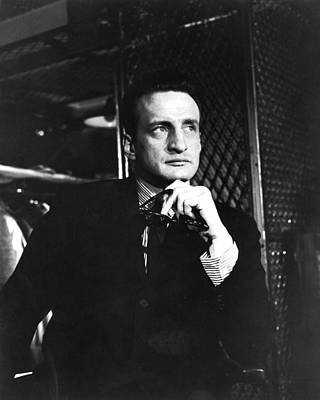 George C. Scott In The Hustler Poster by Silver Screen