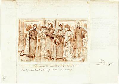 George Du Maurier British, 1834 - 1896 Poster