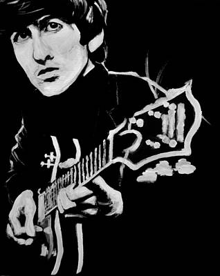 George Harrison Poster by Melissa O'Brien