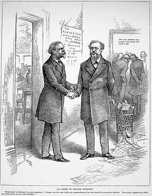 George Hunt Pendleton (1825-1889) Poster by Granger