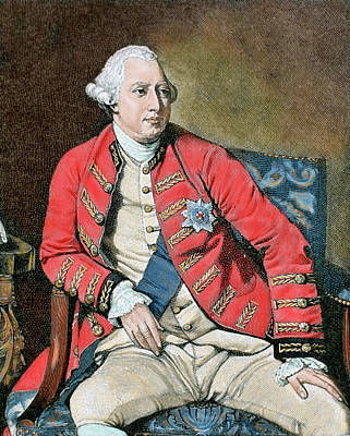 George IIi (london, 1738-windsor, 1820 Poster by Prisma Archivo