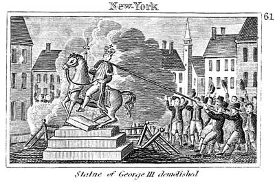 George IIi Statue, 1776 Poster by Granger