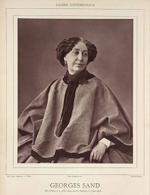 George Sand Poster by British Library